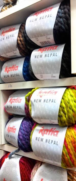 Katia New Nepal. Muy suave y gordita