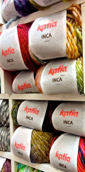 Katia Inca. Súper suave con un 53% de lana virgen