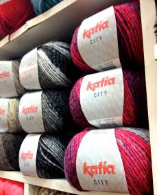 Katia City. 53% de lana, ¡súper abrigada!